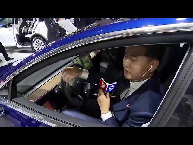 视频|2019上海车展|特斯拉带来高性能Model 3 量产版