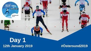 Cross Country Middle Distance Classic Technique   Ostersund 2019