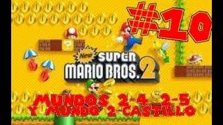 Guia de New Super Mario Bros 2 [100%] Parte 10   Mundos 2-4, 2-5, Mundo 2-Castillo y Iggy Koopa