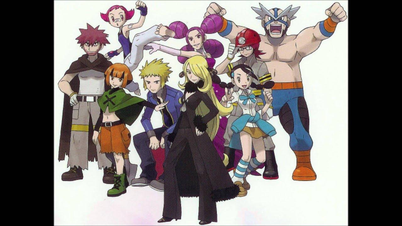 All pokemon that need a sinnoh stone