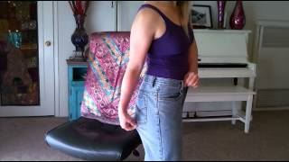 hCG Diet: Look how big my old pants are on me now- R5P3