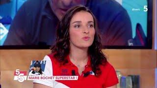 Marie Bochet superstar ! - C à Vous - 21/03/2018