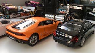 Мультик про Машинки Хот Вилс Гоночные Машинки и Автовоз! Car transporter and Hot Wheels!