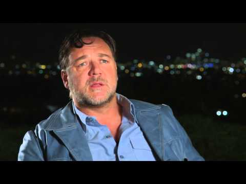 """The Nice Guys: Russell Crowe """"Jackson Healy"""" Behind the Scenes Movie Interview"""