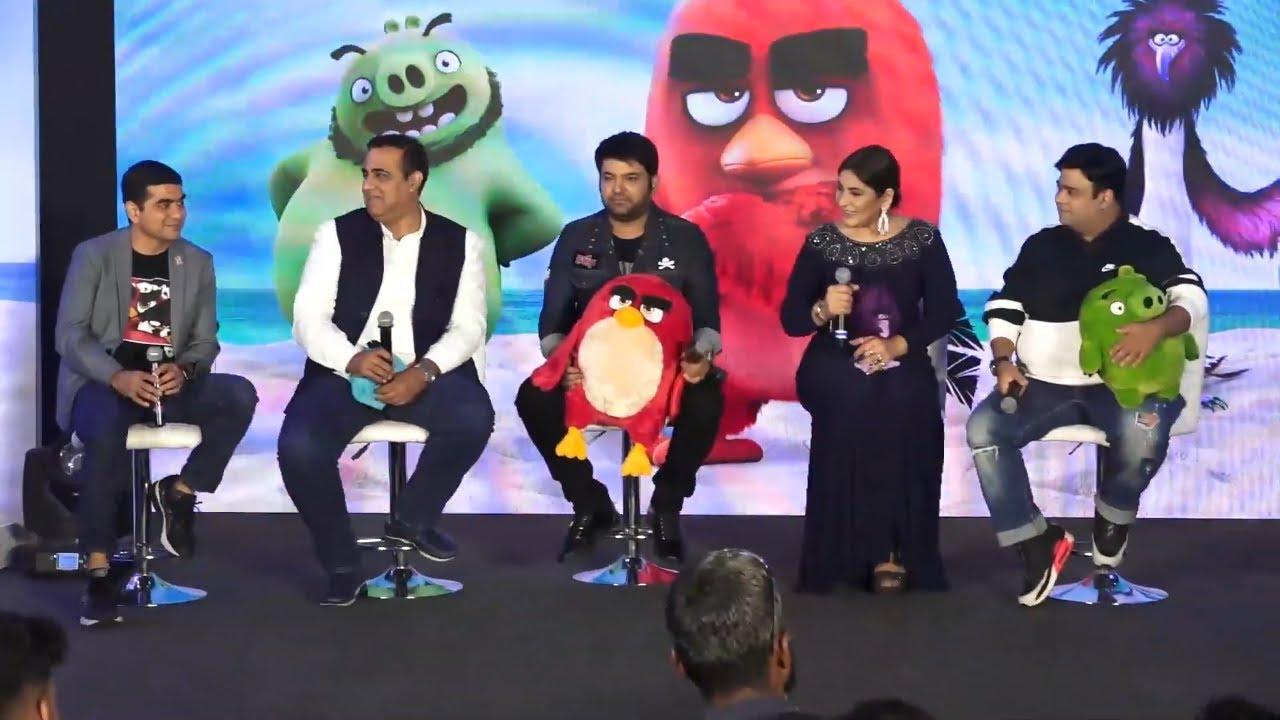 Hindi Dubbing Artist Of Angry Birds 2 Kapil Sharma Kiku Sharda