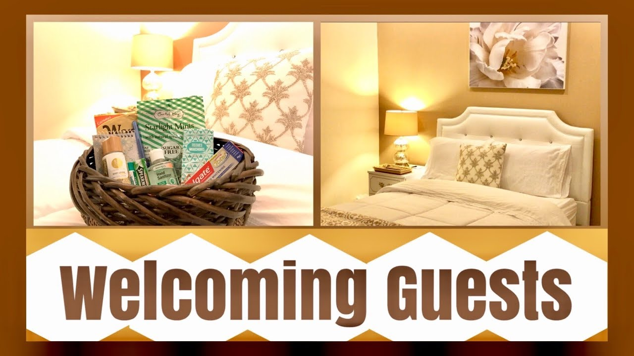 Guest Room And Welcome Baskets