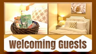 Preparing for Guests | Guest Room and Welcome Baskets