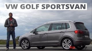 [PL] Volkswagen Golf Sportsvan 2.0 TDI 150 KM, 2014 - test AutoCentrum.pl