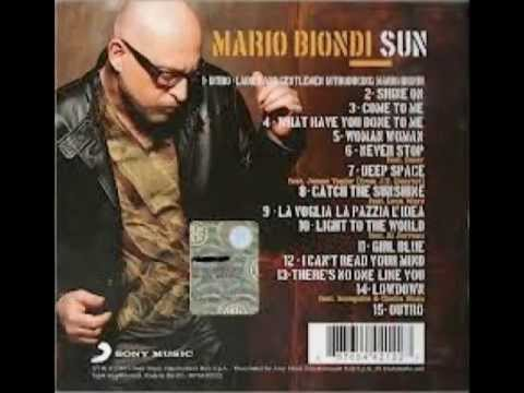 Mario Biondi Fri 10/05/13 Interview with DJ-Gloss on Ramjam Radio