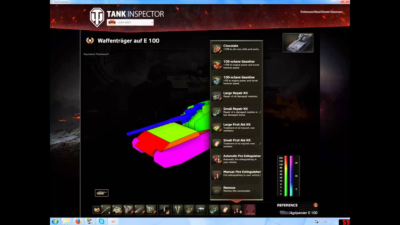 Tank Inspector: Excellent Research Tool     - Newcomers' Forum