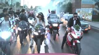 Motorcu Düğünü & Bike Wedding :)) ♥