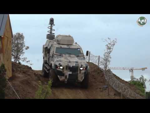 Eurosatory 2016 full live dynamic demonstration airland defense security exhibition Paris France