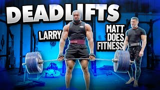 WHAT CAN I DEADLIFT AFTER 16 WEEKS OF NOT DEADLIFTING? MATTDOESFITNESS, MIKE THURSTON & JOESTHETICS