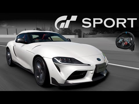 Toyota SUPRA 2019! 😍 | Gran Turismo Sport + G29 e SWE 29 [PT-BR] thumbnail