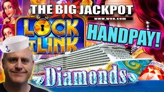 💎ANOTHER HANDPAY! 💎 LOCK IT LINK DIAMONDS PAYS OUT BIG!