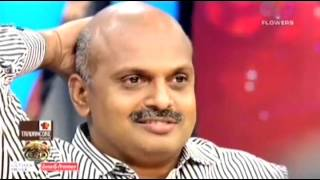 Psy Vipin Roldant as guest - 'Sreekandan Nair Show' in Flowers Channel on 23/ 1/ 2016 (Second part)