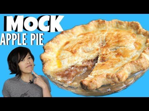 Great Depression Era MOCK APPLE PIE - Apple-less Ritz Cracker Pie | HARD TIMES