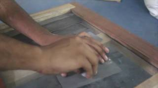 Finishing Operation Using Emery paper different grades: Metrology Lab