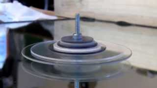 DIY spinning top power 5,000 + RPM Dan