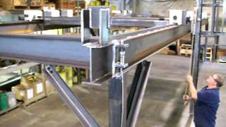 Custom Fabricated Crane Type System by LoadHook.com