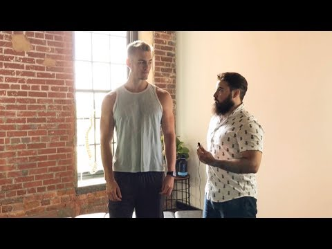 Fitness/Nutritional Coach gets FULL BODY Chiropractic adjustment