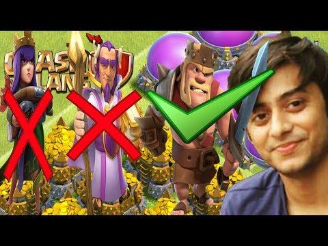 🔴COC Best League For Loot No Queen  No Warden |Live Loot | Live Attacks |