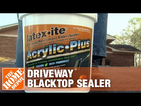 Latex-ite Acrylic Plus Driveway Blacktop Sealer - YouTube