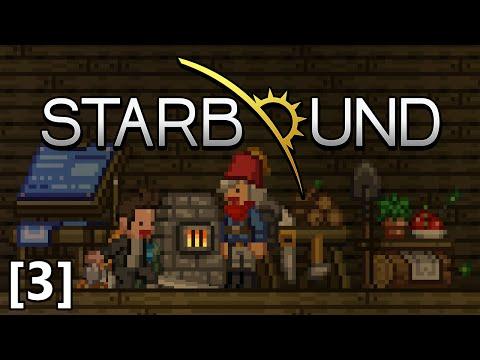 Starbound - Part 3 - Parkour Pocket Dimension, Dash Tech