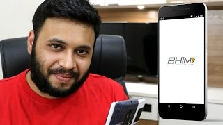 BHIM app How to download and Use | Bhim UPI app Tutorial Full Guide [Hindi]