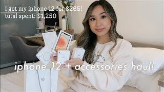 iPhone 12 + Apple Accessories Haul | Overview, Pricing, & Video Comparison