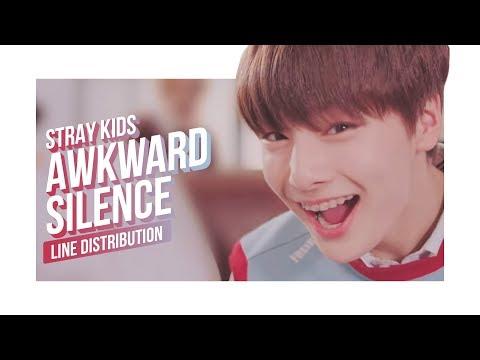 Stray Kids - Awkward Silence Line Distribution (Color Coded) | 스트레이 키즈