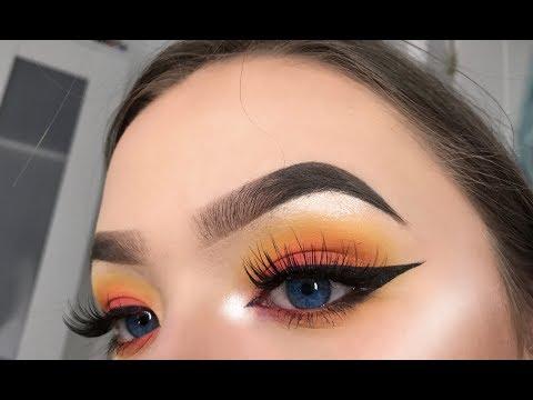 CHATTY SUNSET MAKEUP LOOK | makeup tutorial