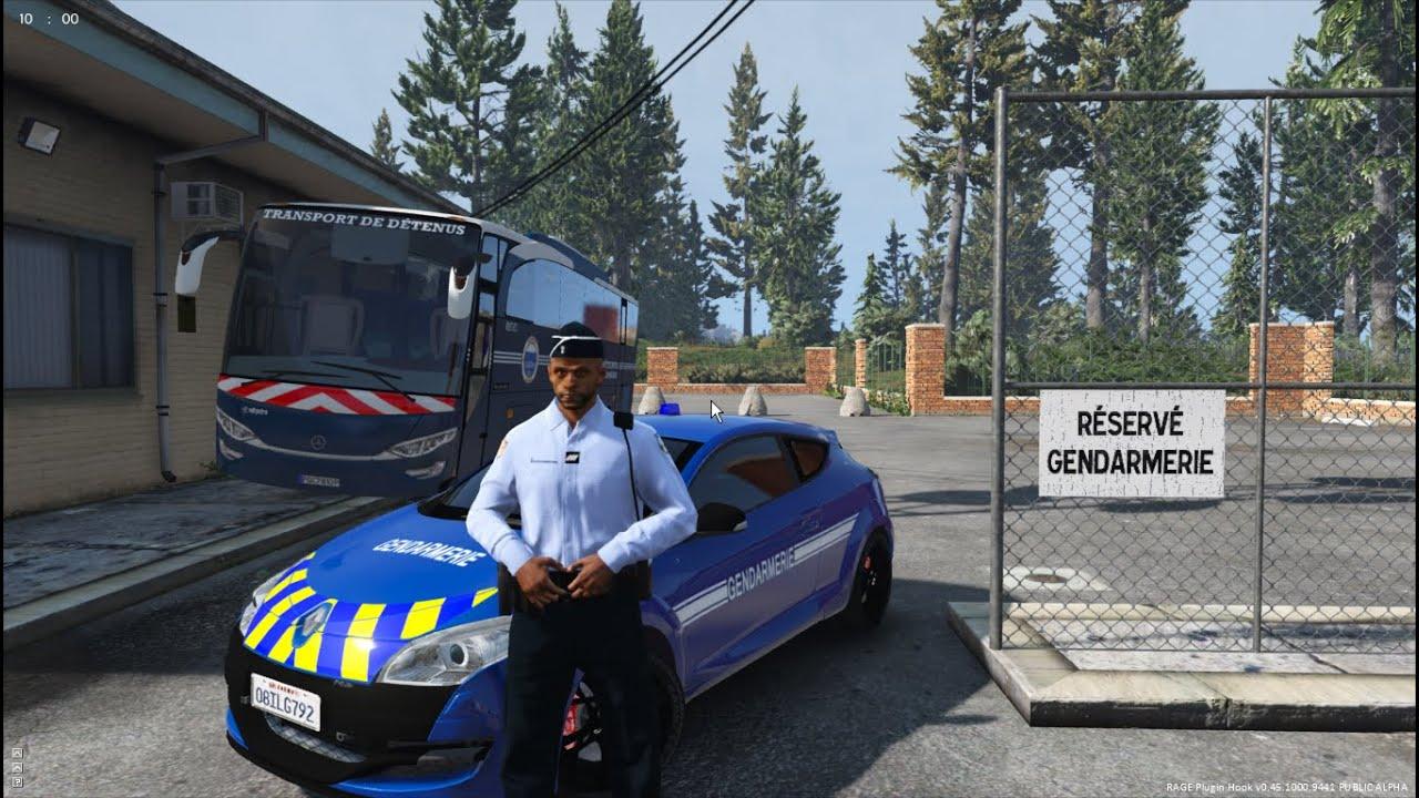 gta 5 - lspdfr 0 3 1 - gendarmerie nationale  e r i  - jour 9