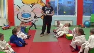 Игровая комната * Кубики *: загадки о спорте. Centre Judo Kids. Feodosiya