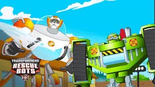 Transformers Rescue Bots Season 4 - 'Summer Time!' ⛱️ Official Clip | Transformers Kids