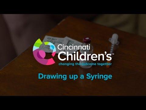 How To Draw Up An Insulin Syringe | Cincinnati Chldren's