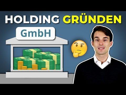 Holding gründen um steuerfrei Vermögen aufzubauen: Lohnt sich das?