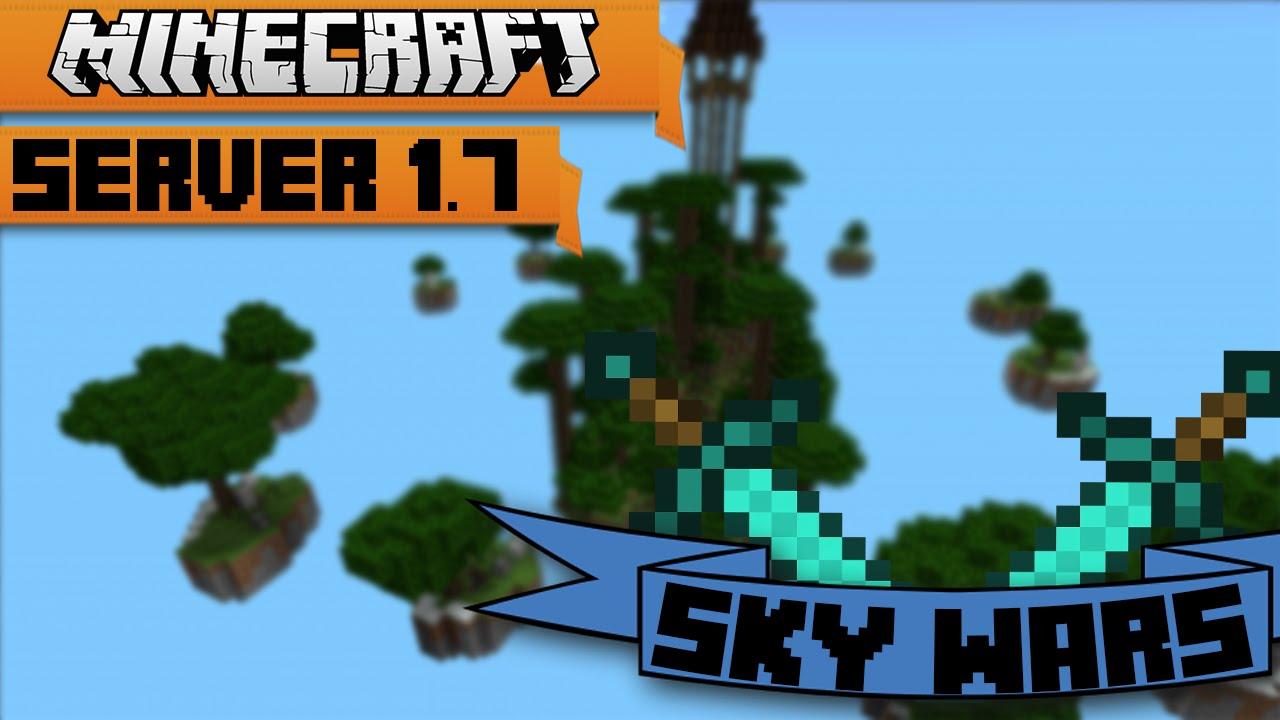 Sky Wars   Minecraft Server - YouTube