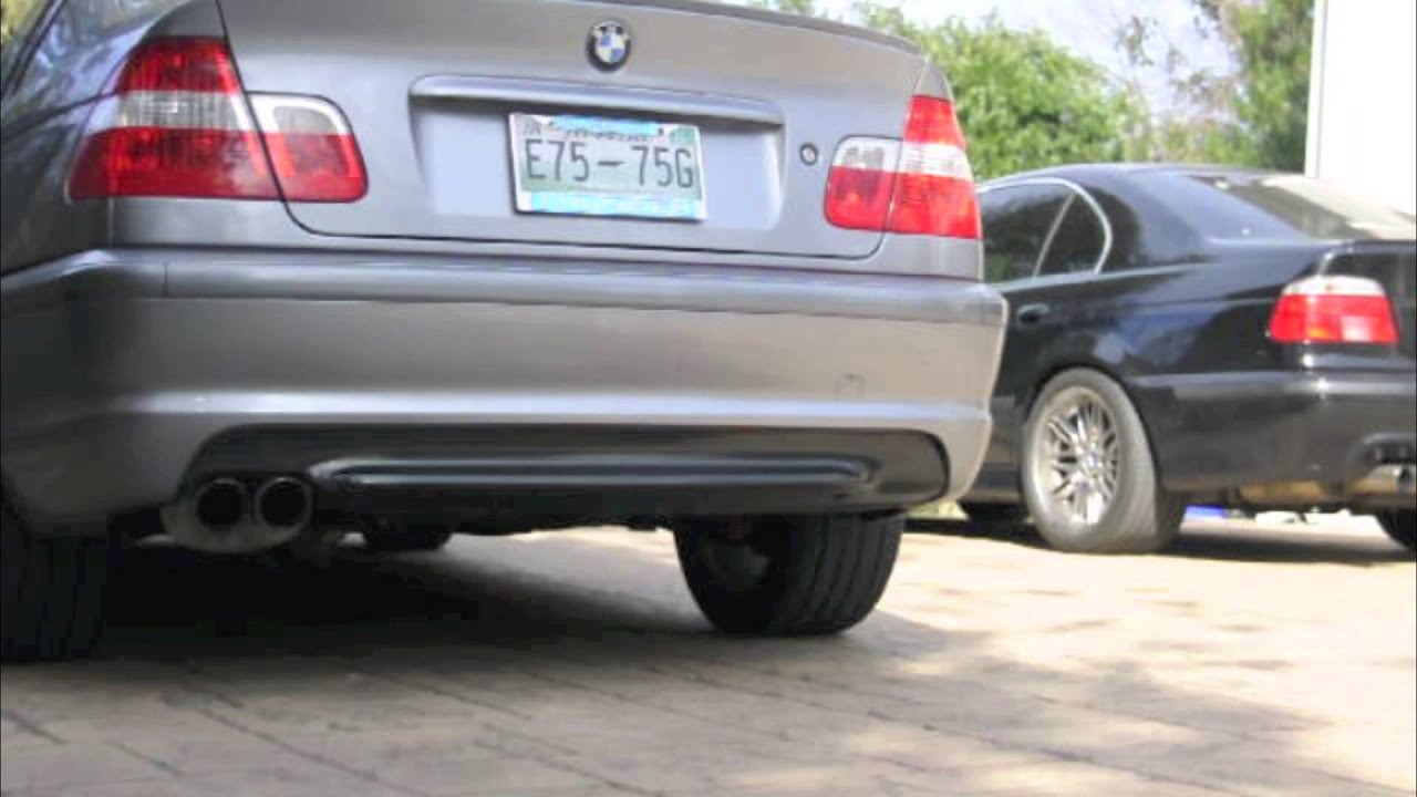 Bmw 330i Zhp Magnaflow Catback Exhaust Youtube