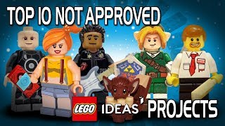 LEGO Ideas - Top 10 Not Approved Projects!
