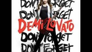Demi Lovato Gonna Get Caught Karaoke/Instrumental