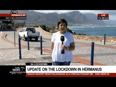 SA Lockdown Day 3 I  Life Under Lockdown In Hermanus
