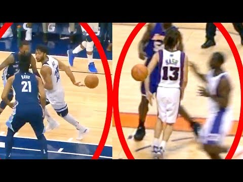 Derrick Rose Does Insane Steve Nash Pass!! | Crazy Behind the Back Assist (Random Moments Week 11)