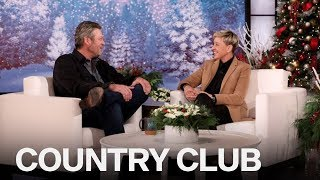 Ellen DeGeneres Pressures Blake Shelton To Propose To Gwen Stefani
