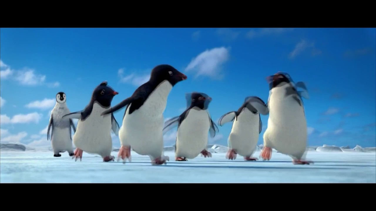 Animated Movie Review Happy Feet Youtube