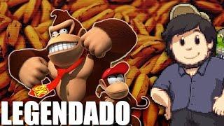 Donkey Kong Country Returns Review JonTron Game Reviews Legendado PT BR