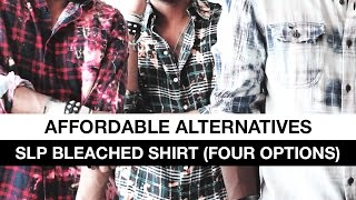 Affordable Alternatives: Saint Laurent Bleached Shirt (Four Options) ASOS | Topman | ZARA