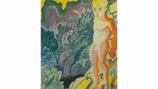 Paul Camenisch, Male nude, circa 1925