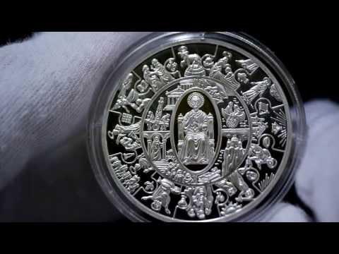 2010 Liberia PETRUS THALER Silver Gilded Proof Coin