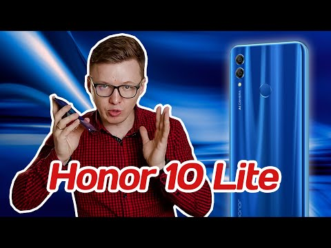 Honor 10 Lite: все фишки и подводные камни
